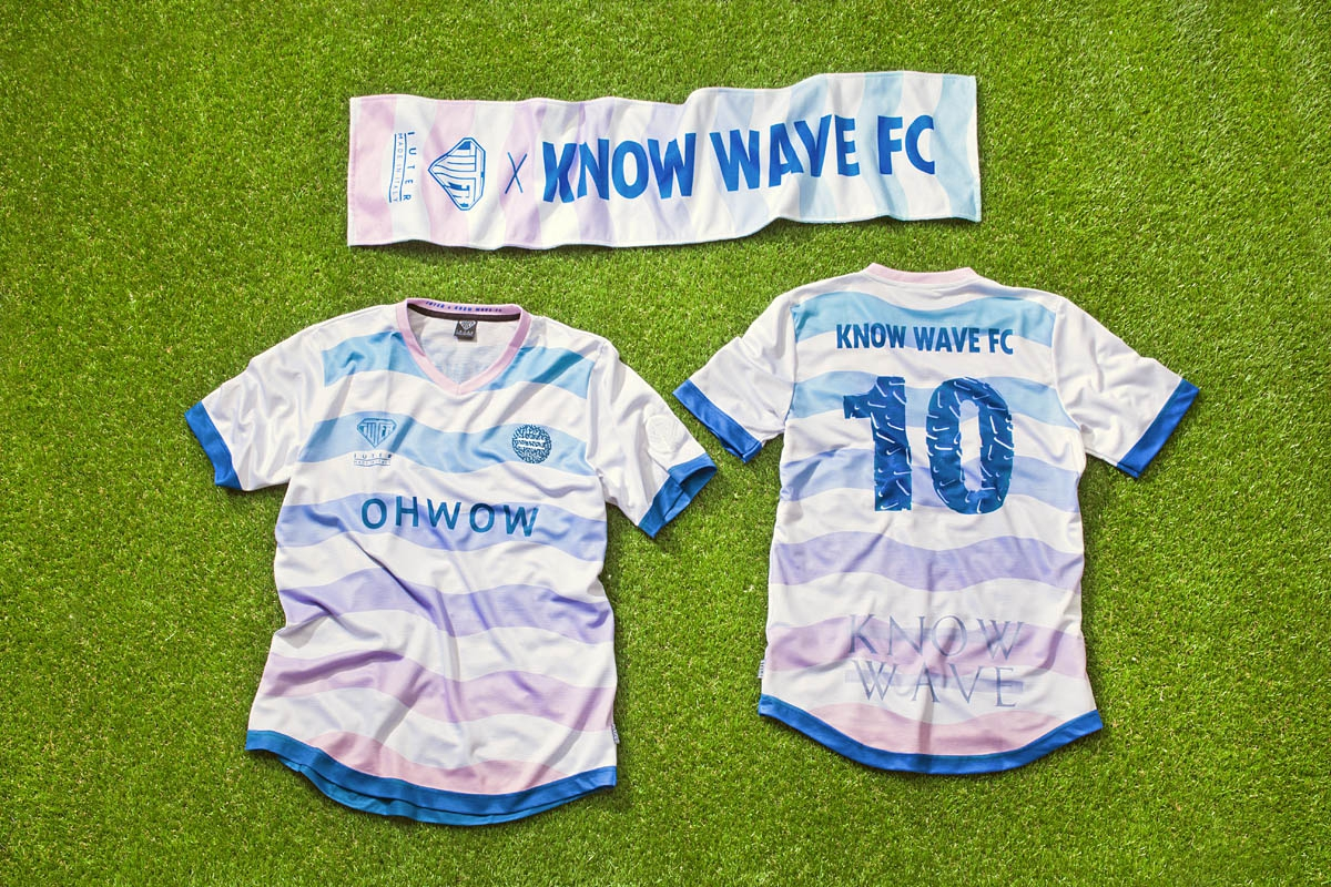 IUTER x Know Wave FC @Adidas Fanatic NYC Know Wave FC was the best looking team...