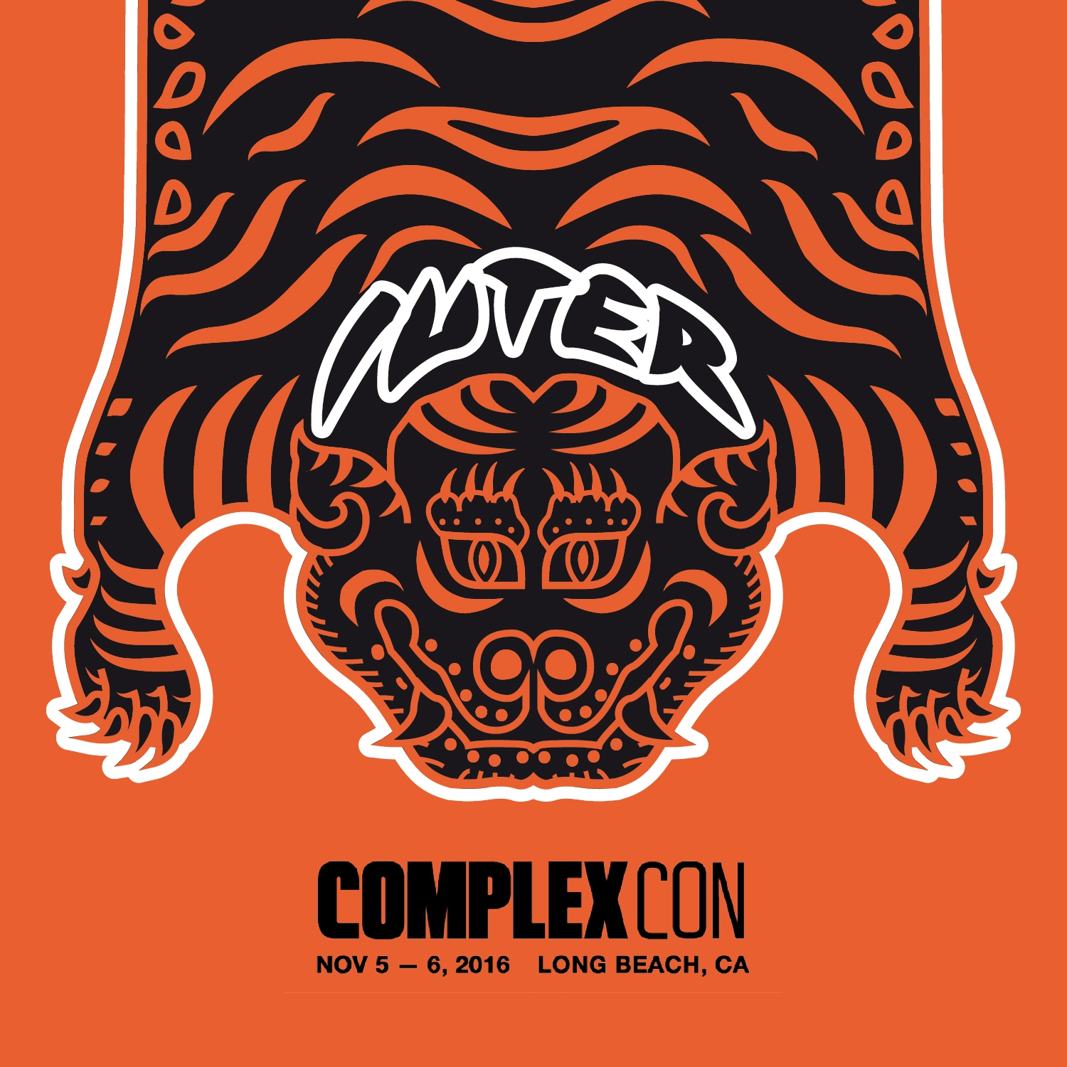 IUTER Tiger Rug Pack  Special Release for ComplexCon L.A.