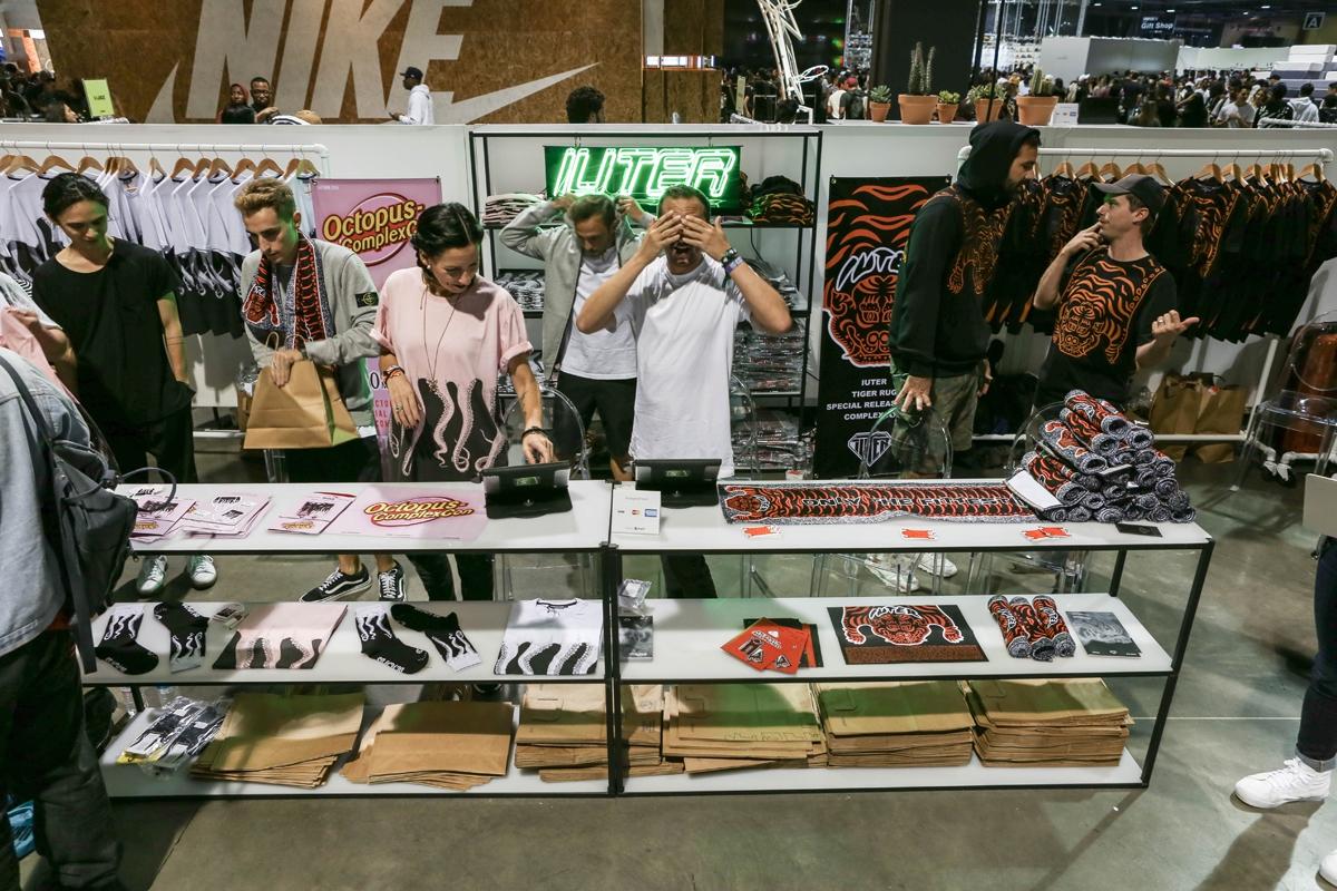 IUTER & Octopus at ComplexCon Random pics report at Long Beach (L.A. – California)