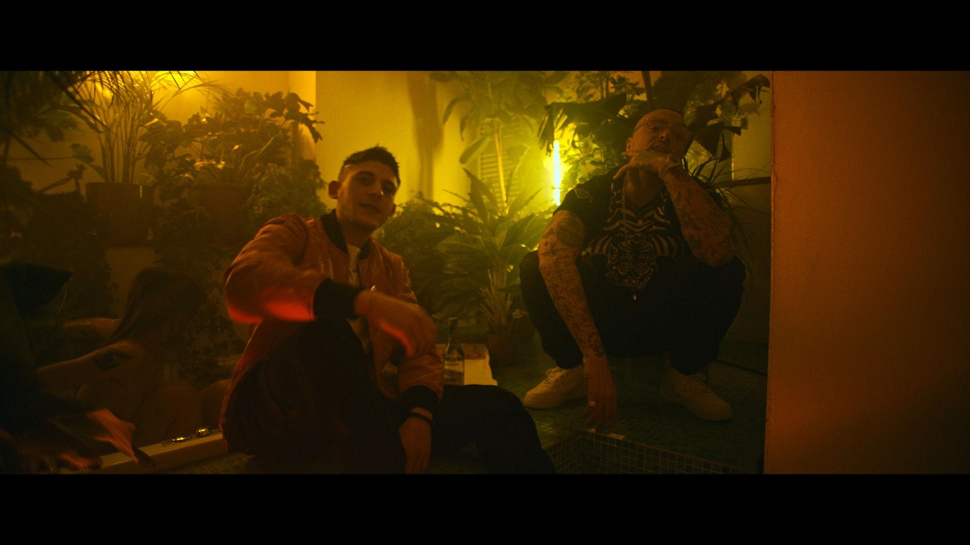 IUTER X THE NIGHT SKINNY, GUE PEQUENO & RKOMI PEZZI - video