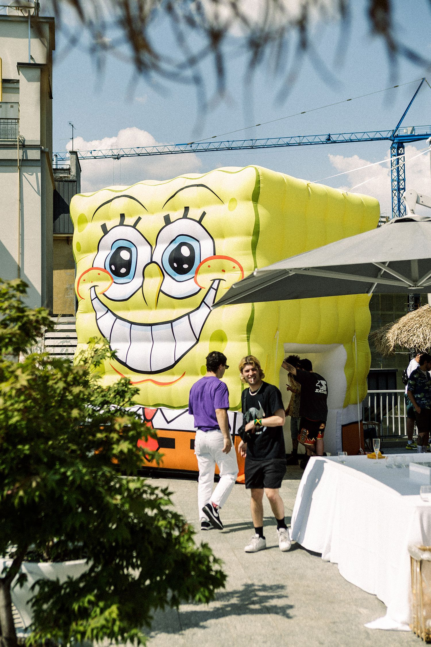 Octopus Brand x Spongebob It's not about winning, it's about Fun!