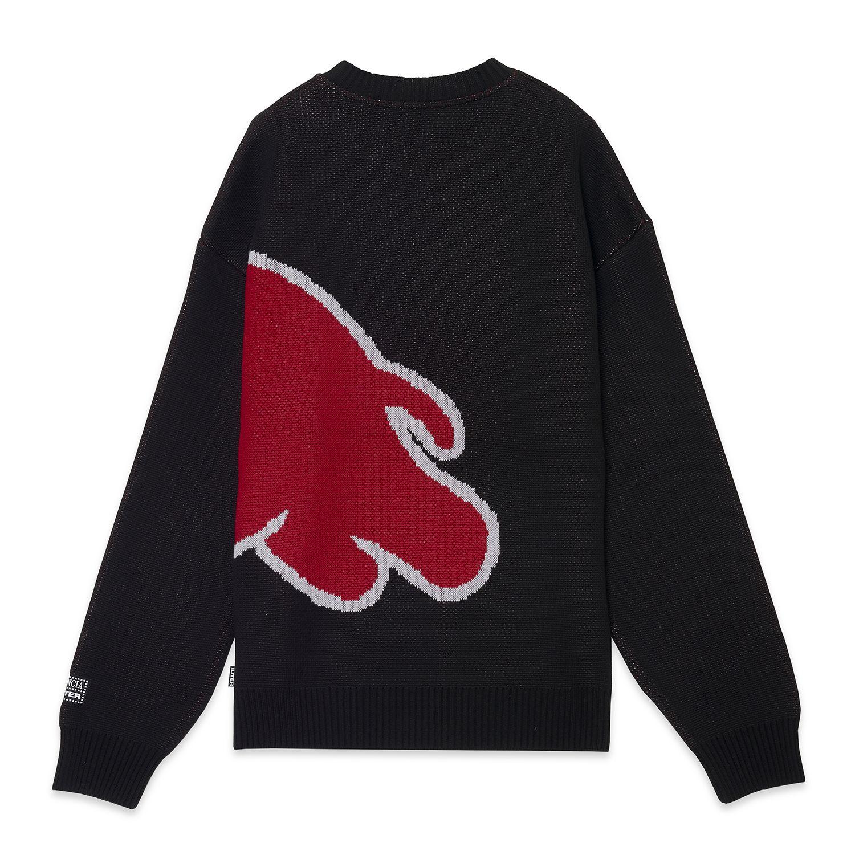HF ELEFANTINO JUMPER Knitted Jumper BLACK   Image 3