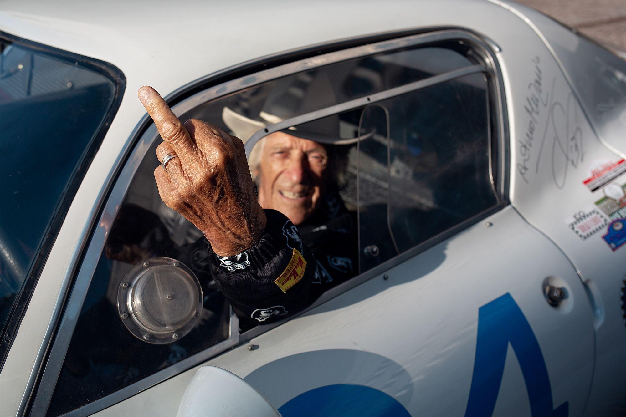 Arturo Merzario for IUTER x Abarth Capsule collection F1 Legend Arturo shot by Royale77