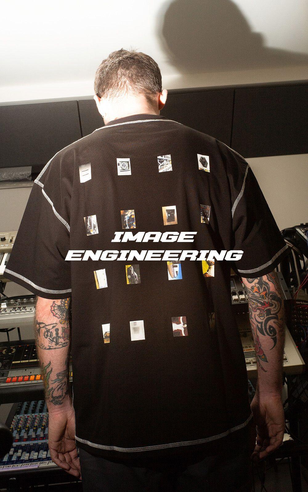 Image Engineering Fanzine Tee Micro-zine included.